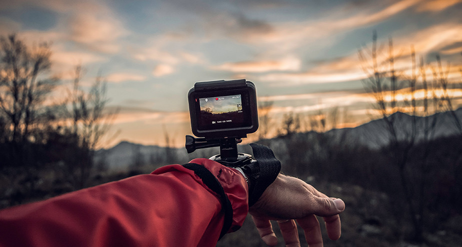 wrist strapped gopro best gifts for photographers