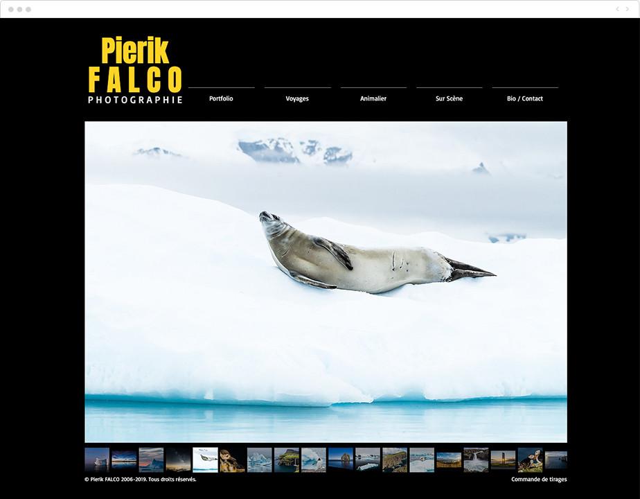 black background photography portfolio