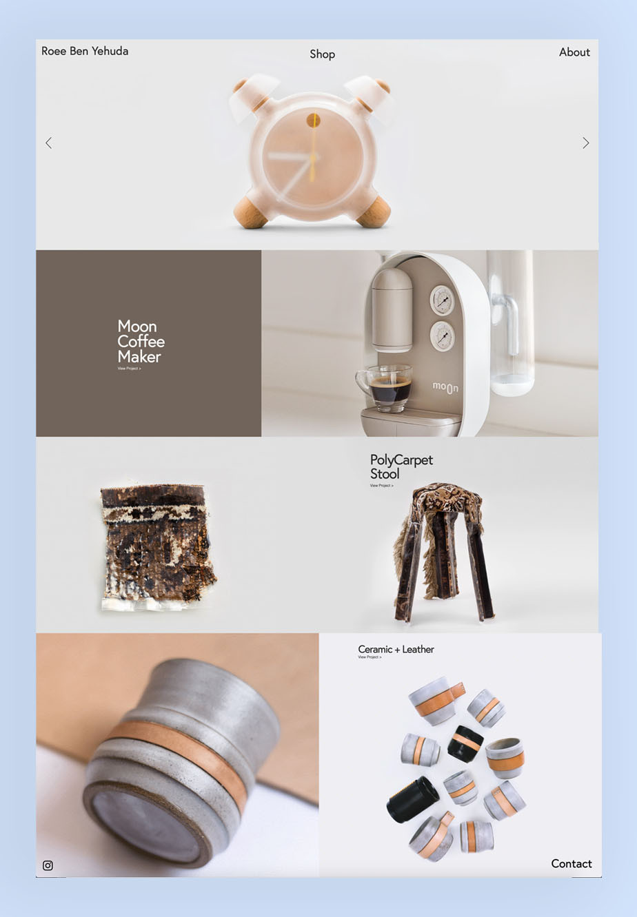 Roee Ben Yehuda portfolio and online store