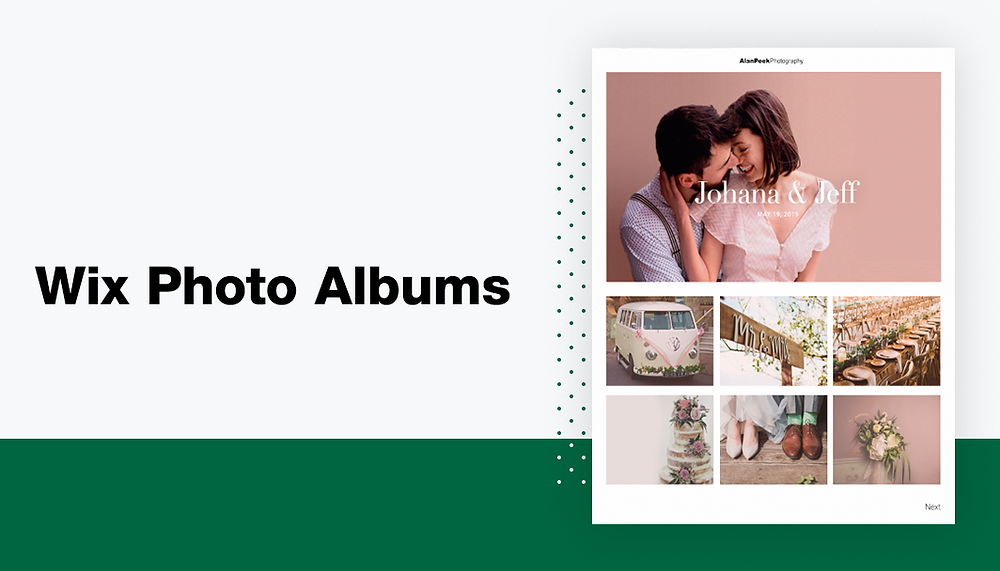 Wix Photo Albums: The Best Way to Share Photos With Clients