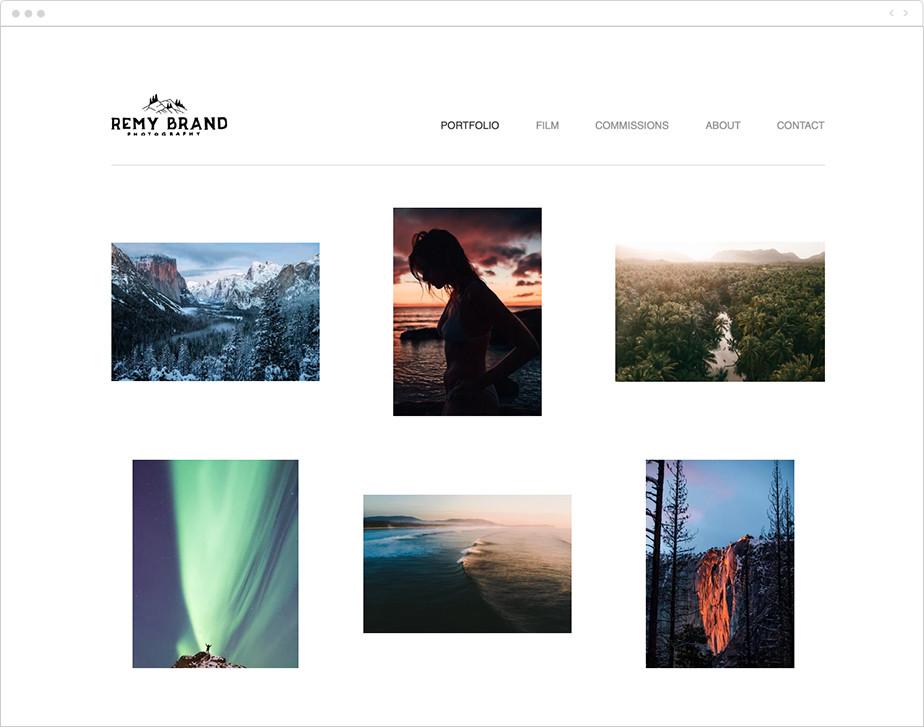 outdoor nature photographer portfolio
