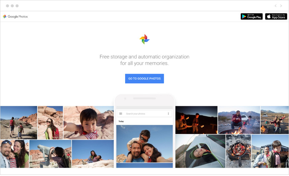 Google Photos one of the best free image hosting site