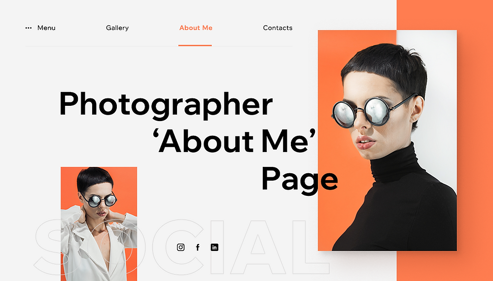 How to Write a Good About Me Page for Photography Website