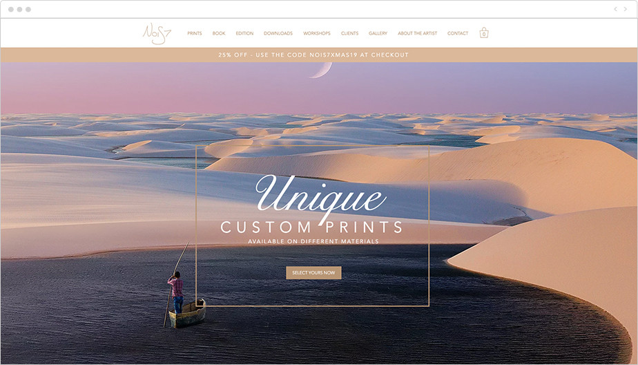 digital artist online portfolio
