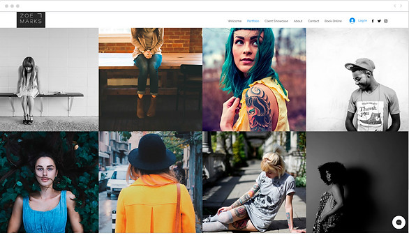 networking tips create a photography website