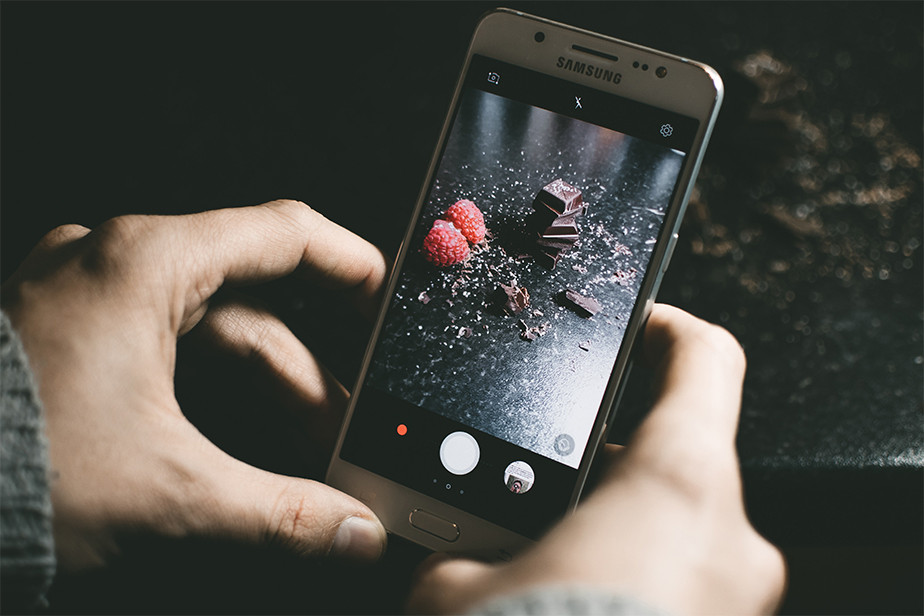 food photography tips smartphone