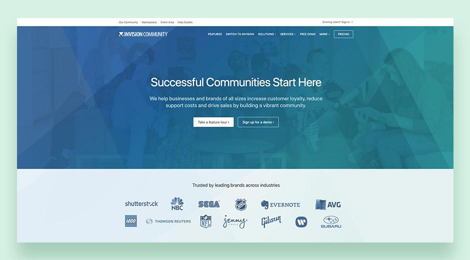 Invision Community best forum software for enterprises