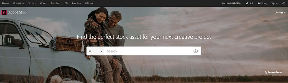 adobe stock photography marketplace