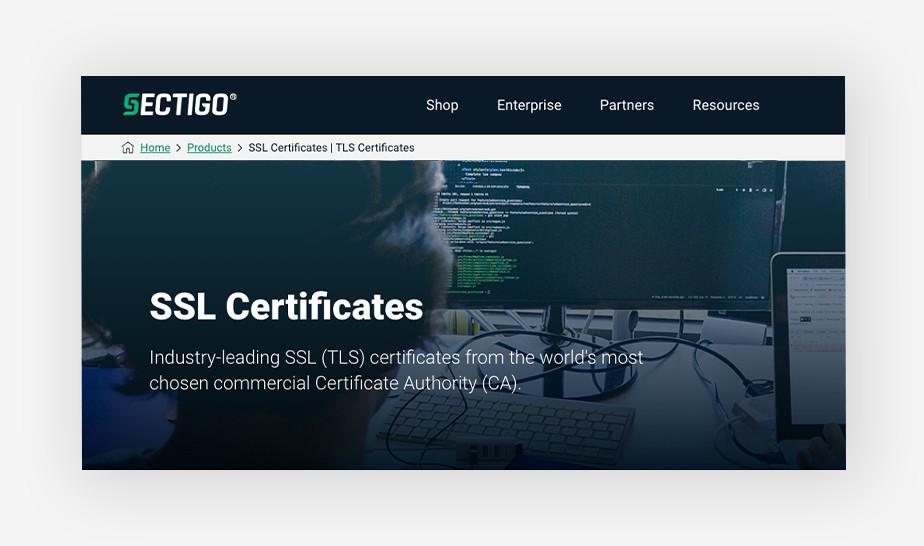 Sectigo - affordable CSS certificates