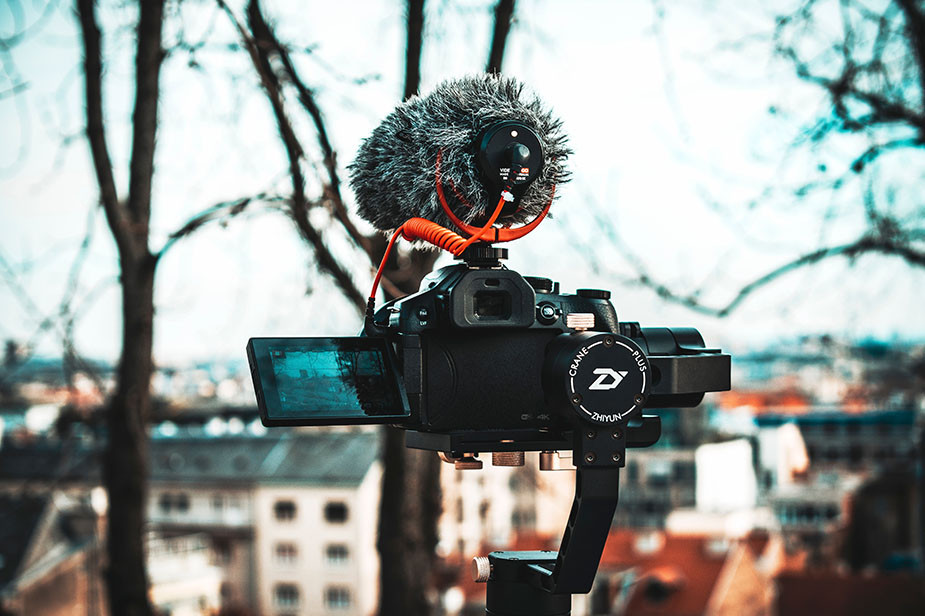 video tip external microphone