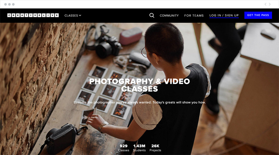 creativelive online photography classes