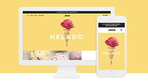 Páginas Web Impresionantes Creadas Con La Plantilla De Helados