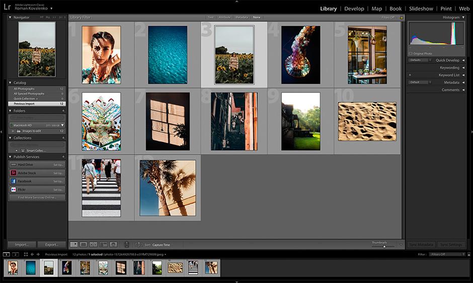 Lightroom vs. Photoshop library file management