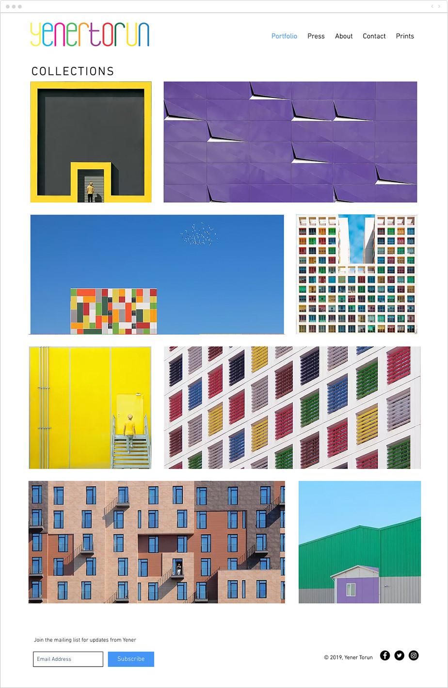 colorful architecture photography portfolio