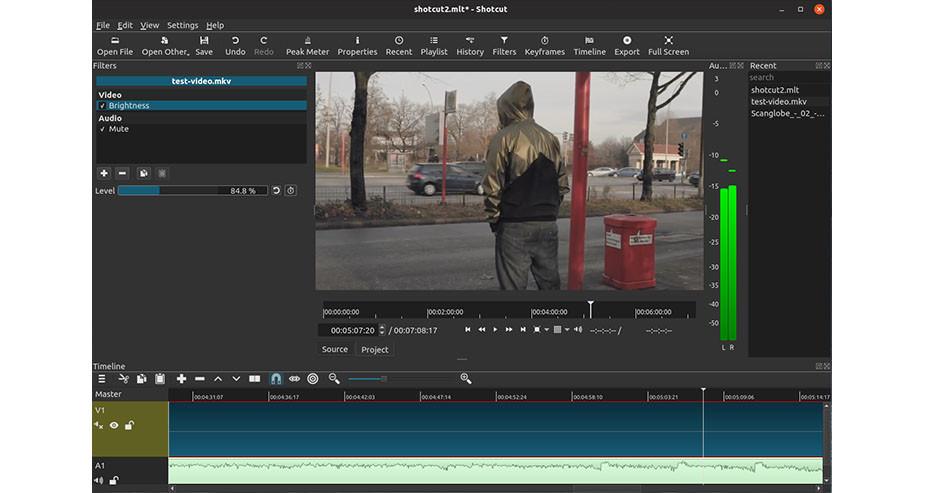 Shotcut free video editor