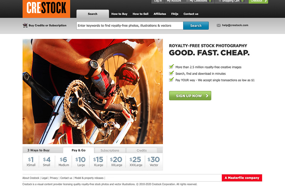 royalty-free stock photography site crestock