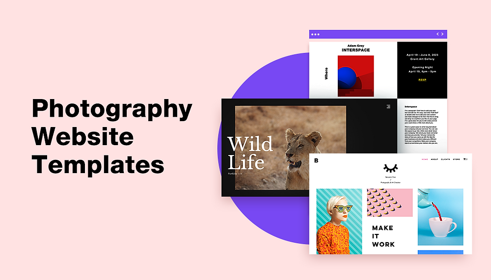 15 Photography Portfolio Website Templates You'll Be Inspired By