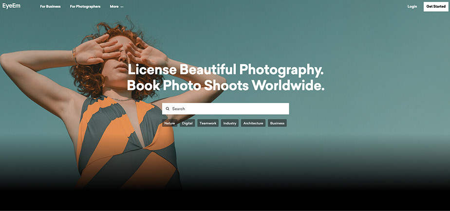 sell commercial and product photos online eyeem