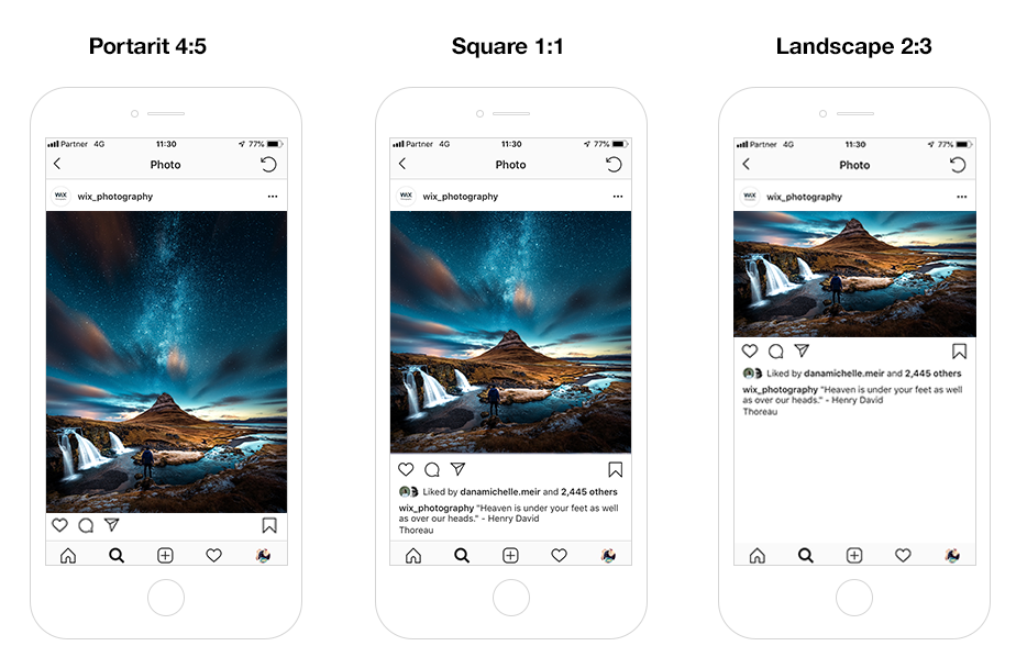 instagram image size and aspect ratio