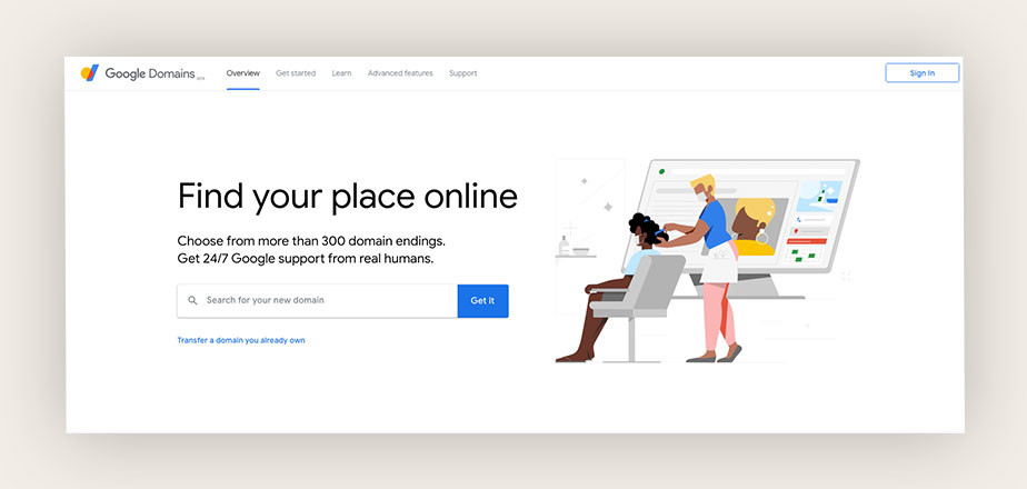 Google Domains best domain registrar for GSuite integration
