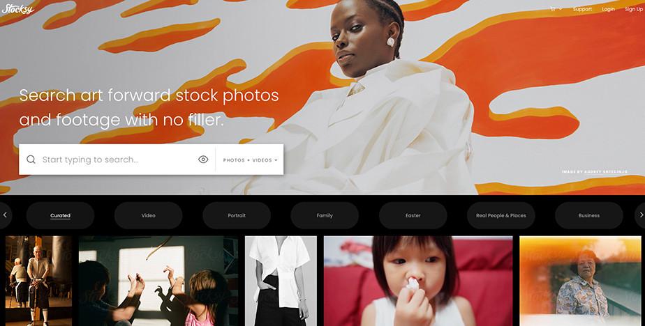 sell photos online stocksy