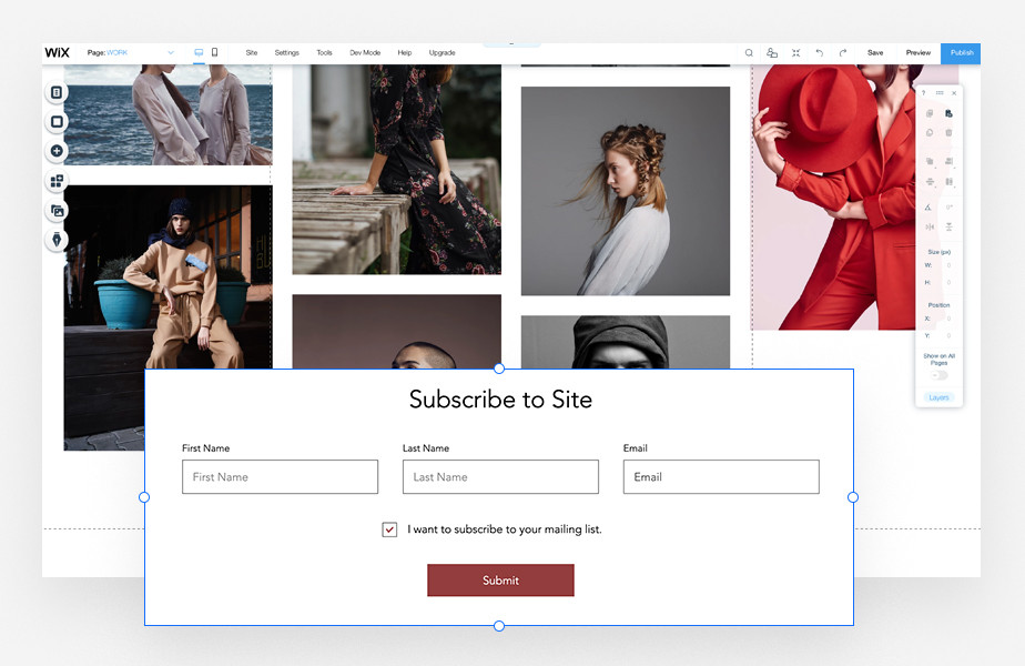 add a subscribe button to your website