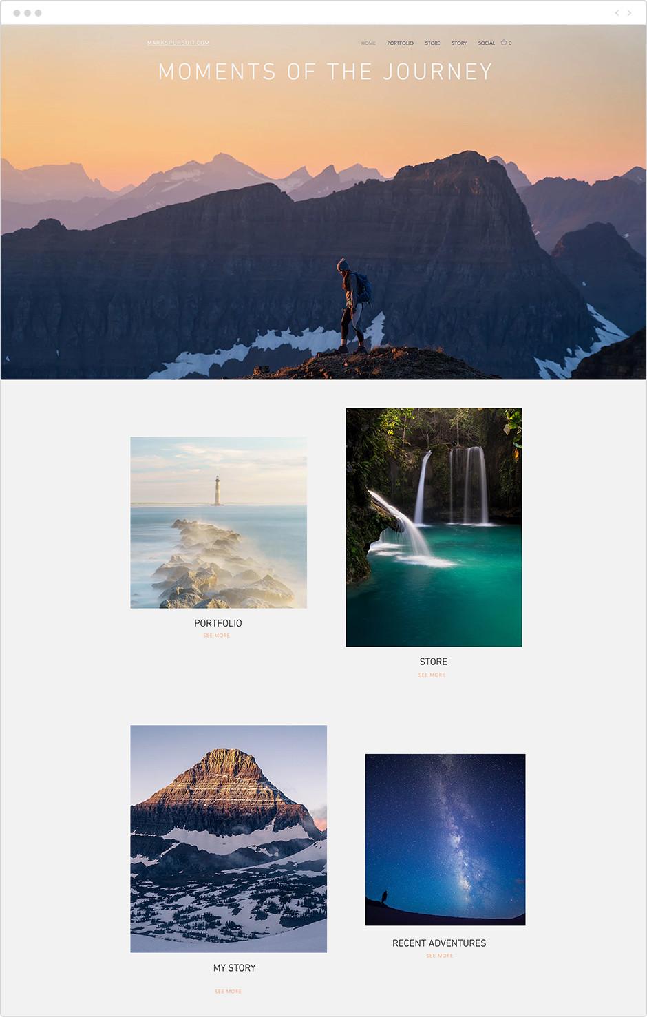 mark norton nature photography website