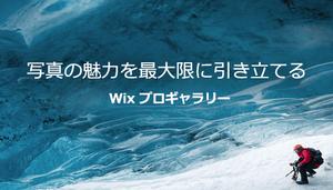 新登場!写真の魅力を120%伝える、Wix プロギャラリーリリース