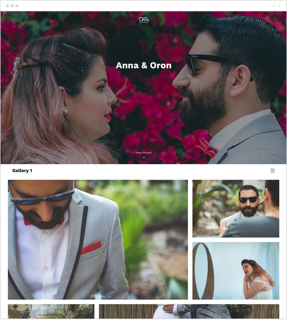 create unique photo albums for your clients with Wix Photo Albums