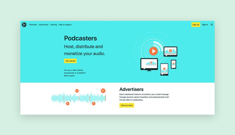 Audioboom best podcast hosting site for monetization