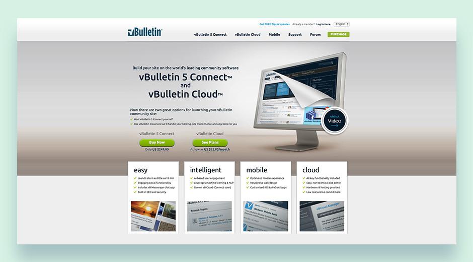 vBulletin best premium forum software
