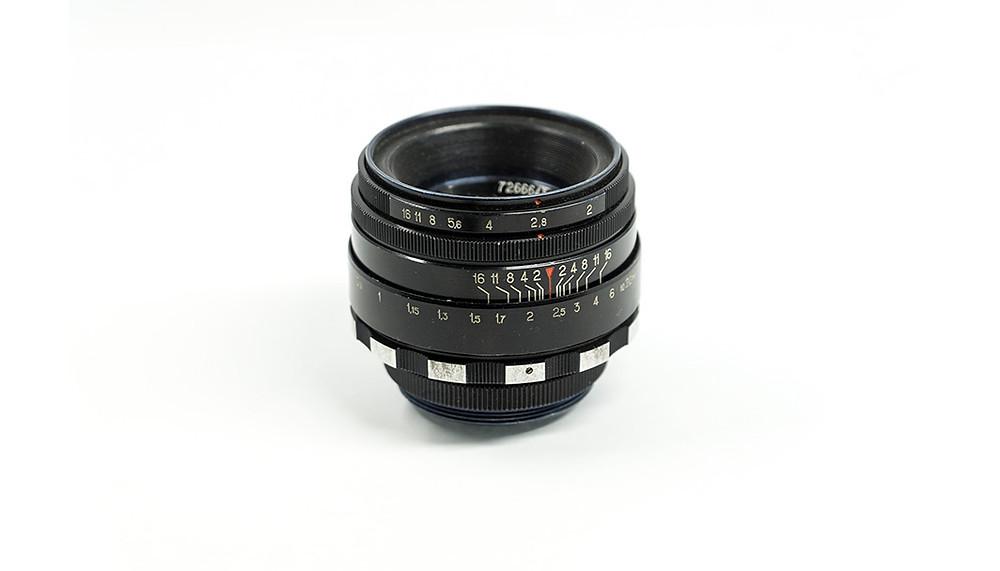 standard types of camera lenses