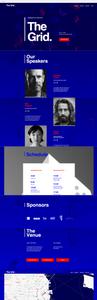 Plantilla Wix - Conferencia Creativa