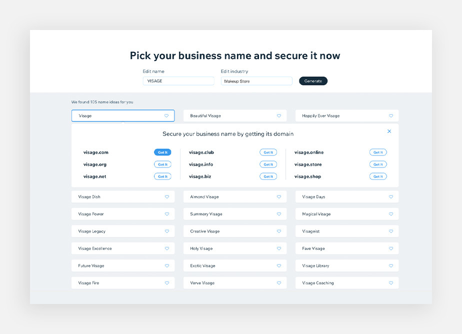 How to choose a domain name? Use a business name generator