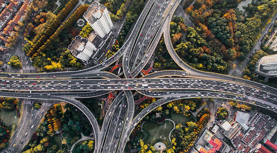 photography trends drone urban photo highway