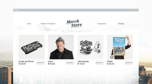 Wix Music: Vende tus Productos de Manera Rápida