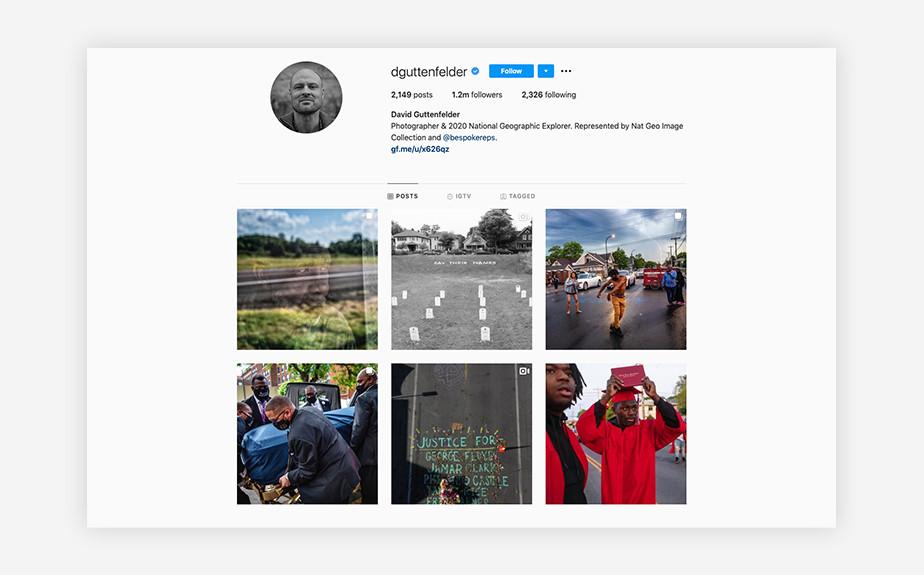 David Guttenfelder photojournalist Instagram feed
