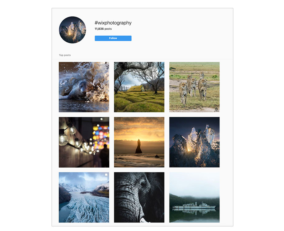 promote your instagram account photography hashtags
