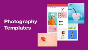 Top Photography Website Templates You Cannot Miss
