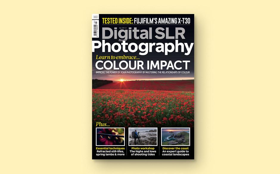Digital SLR Photography magazine cover