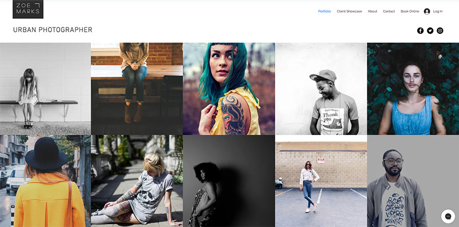 create a photography website with wix and sell photos online