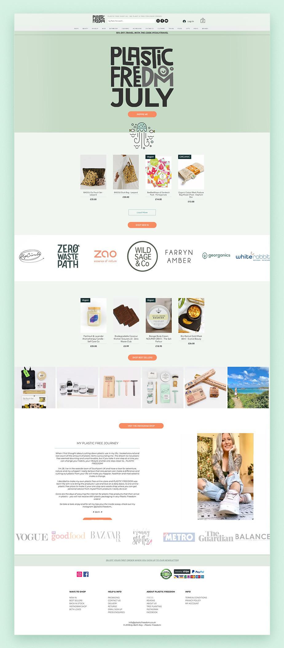 Plastic Freedom online store