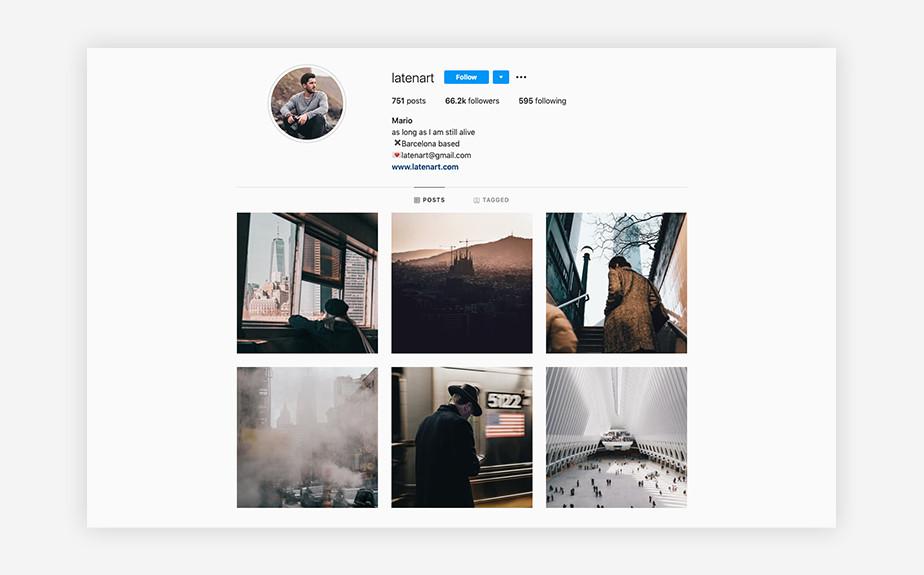 Mario Martinez urban photography Instagram account