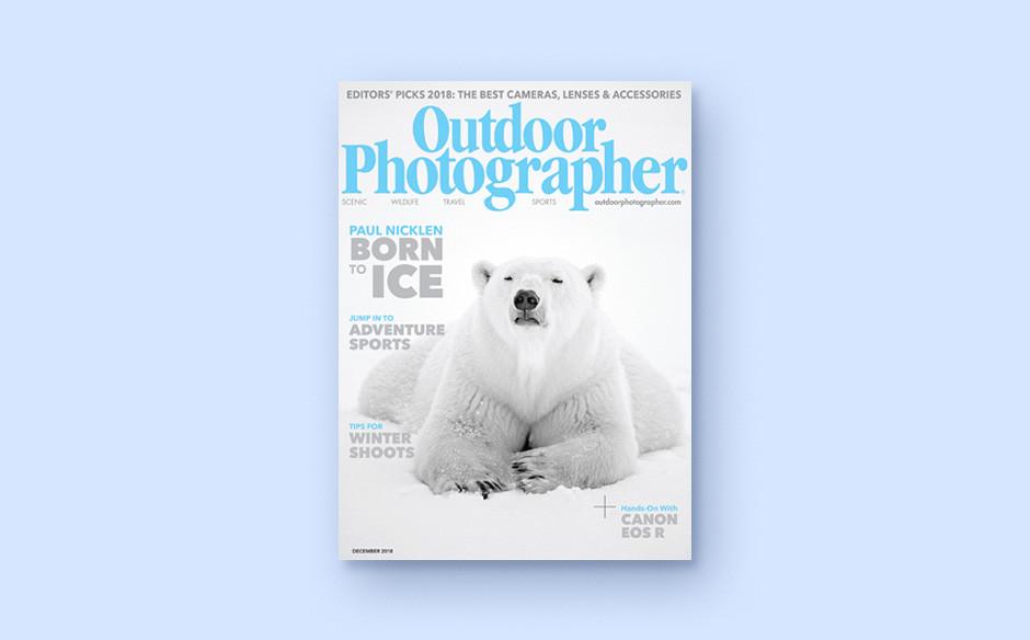 Outdoor Photographer magazine cover
