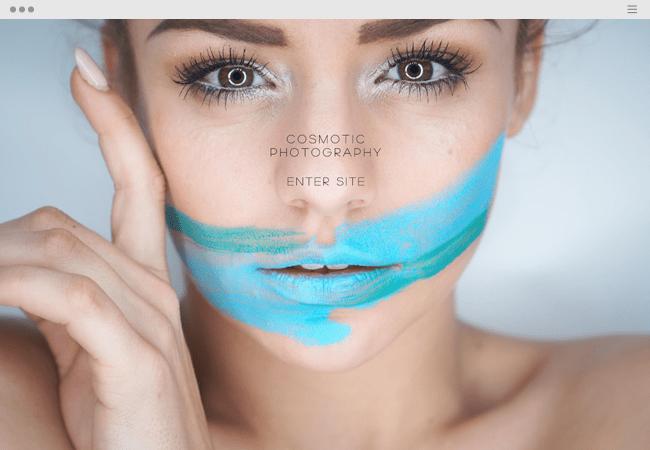 ポートフォリオサイト, Cosmotic Photography
