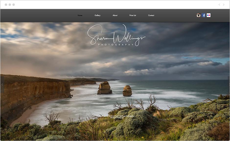 sharon wellings landscape photography website