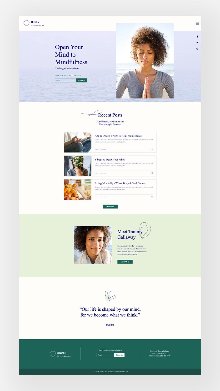 wellness blog niche ideas