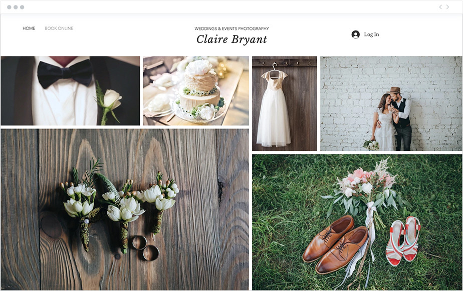create a free photography website