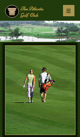 Sport & Recreation website templates – Golf Course