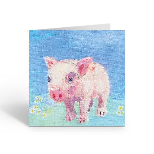 Little Piglet - card